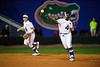 Florida Gators softball third basemen Charla Echols as the Gators hosted Team USA at Katie Seashole Pressly Stadium in Gainesville, Florida on February 11th, 2020 (Photo by David Bowie/Gatorcountry)