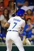 Florida Gators softball outfielder Jade Caraway as the Gators hosted Team USA at Katie Seashole Pressly Stadium in Gainesville, Florida on February 11th, 2020 (Photo by David Bowie/Gatorcountry)