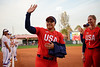 Former Gator Great Kelsey Stewart as the Gators hosted Team USA at Katie Seashole Pressly Stadium Gainesville, Florida on February 11th, 2020 (Photo by David Bowie/Gatorcountry)