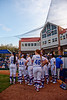 The Florida Gators softball team prepares to take the field as the Gators hosted Team USA at Katie Seashole Pressly Stadium Gainesville, Florida on February 11th, 2020 (Photo by David Bowie/Gatorcountry)