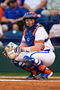 Florida Gators softball catcher Jordan Roberts as the Gators hosted Team USA at Katie Seashole Pressly Stadium Gainesville, Florida on February 11th, 2020 (Photo by David Bowie/Gatorcountry)