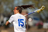 Florida Gators womens lacrosse attacker Grace Haus during the first half as the #8 ranked Gators come from behind to beat the #3 ranked Stony Brook Seawolves 12-10 at Donald R. Dizney Stadium in Gainesville, Florida on February 29th, 2020 (Photo by David Bowie/Gatorcountry)