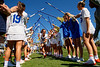 Florida Gators womens lacrosse midfielder Emily Heller during pregame as the #8 ranked Gators come from behind to beat the #3 ranked Stony Brook Seawolves 12-10 at Donald R. Dizney Stadium in Gainesville, Florida on February 29th, 2020 (Photo by David Bowie/Gatorcountry)