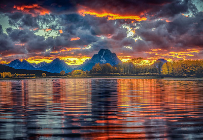Ox Bow Bend, Grand Teton National Park, Wyoming