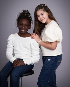 Mila and Charlee