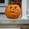 200928 LKPT Enterprise 1<br /> James Neiss/staff photographer <br /> Lockport, NY - Grumpy Neighbor - It's best to stay away from Georgia Avenue in Lockport as there is apparently a mean jack-O-Lantern taking up residence on that street.