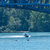 2006018 Enterprise 3<br /> James Neiss/staff photographer <br /> Niagara Falls, NY - It was a beautiful day for those taking to the water as these folks on the Niagara River.