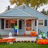 201029 Halloween 1<br /> James Neiss/staff photographer <br /> Niagara Falls, NY - There is some spooky business going on at this 80th Street home.