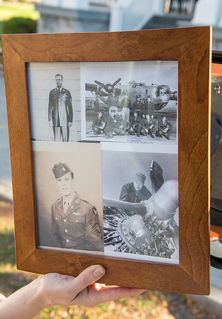 201110 Veteran 3<br /> James Neiss/staff photographer <br /> Lockport, NY - Photos of Army Air Force veteran Geogre Chapman.