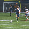 201110 NT Soccer 1<br /> James Neiss/staff photographer <br /> North Tonawanda, NY - North Tonawanda #8 Nick Sciandra chases the ball during sectional soccer game action against Kenmore East.