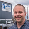 James Neiss/staff photographer <br /> North Tonawanda, NY - Bob Confer of Confer Plastics.