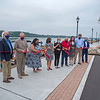 200909 Lewiston Landing 2<br /> James Neiss/staff photographer <br /> Lewiston, NY - Lt. Gov. Kathy Hochul joined Lewiston Mayor Anne Welch and other state and local officials for a ceremonial ribbon cutting marking the completion of the $1.2 million resiliency project improvements at Lewiston Landing on the Niagara River.