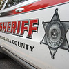 201113 Sheriff Stock 1<br /> James Neiss/staff photographer <br /> Lockport, NY - Niagara County Sheriff Department stock art, logo, icon, crime graphic, police car.