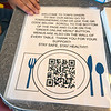 2006016 Inside Dining 3<br /> James Neiss/staff photographer <br /> Lockport, NY - Customers at Tom's Diner have the option to use their phones to scan a code that will get the menu from the internet. On Tuesday New York State entered Phase 3 of reopening during the COVID-19 pandemic which includes inside dining at 50% capacity.