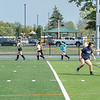 200924 Wilson Sports 1<br /> James Neiss/staff photographer <br /> Wilson, NY - The Wilson girls soccer and field hockey teams hit the practice field after school on Thursday.