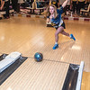 James Neiss/staff photographer <br /> Niagara Falls, NY - Niagara Falls High School Bowler Carly Washcalus at the Pine Avenue Bowl-O-Drome.
