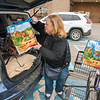 James Neiss/staff photographer <br /> Niagara Falls, NY - Lucky Maj, of Niagara Falls, said she also brings her reusable bags to Wegmans. Wegmans stopped using plastic bags on Tuesday for bagging groceries. <br /> (Editor Note: That's the name she gave me)