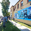 "200805 Mural 1<br /> James Neiss/staff photographer <br /> Niagara Falls, NY - Niagara Falls Mayor Robert Restaino praises the mural painted by Paul Clifton on the side of the Wine On Third building at the corner of Third Street and Ferry Avenue, during the official unveiling ceremony.  <br /> <br /> <br /> MEDIA ADVISORY – PHOTO OPPORTUNITY<br />  <br /> Join members of the Downtown Niagara Falls Business Association (DNFBA) for the official unveiling of the new ""Greetings From Niagara Falls"" public mural, outside of Wine on Third, in Downtown Niagara Falls, NY.  Social distancing is encouraged.  Please wear masks.  <br />  <br /> Members of the DNFBA will be joined by Niagara Falls Mayor Robert Restaino, John Percy, president and CEO of Destination Niagara USA, and<br /> Paul Clifton, mural artist, for a brief presentation and photo opportunities.<br />  <br /> DATE:                  Wednesday, August 5, 2020<br />  <br /> TIME:                  5:30 PM<br />  <br /> PLACE:                Wine on Third<br />                                                        501 Third St.<br />                                                        Niagara Falls, NY 14301<br />                                                        At the corner of Ferry Avenue<br />               <br />  <br /> DNFBA Mission:  To stimulate, enhance & nurture an inviting atmosphere for civic, <br /> cultural, social & economic activities in Downtown Niagara Falls, NY.<br />  <br />  <br />  <br />  <br /> Susan Swiatkowski<br /> Tourism Development Manager<br />  <br /> Inline image 2<br /> <br /> Destination Niagara USA<br /> 10 Rainbow Blvd.<br /> Niagara Falls, NY 14303<br /> p: 1-877 FALLS US 