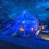 201222 Christmas Lights 2<br /> James Neiss/staff photographer <br /> Niagara Falls, NY - The Niagara Beautification Commission Annual Holiday Decorating Contest South End: 1727 Mackenna: really awesome use of lights and utilized the side and back of the house.