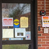 200313 Signs of Virus 3<br /> James Neiss/staff photographer <br /> Niagara Falls, NY -  The Schoellkopf Health Center is closed to visitors, at least through the weekend according to staff. Nursing homes and assisted living facilities across NYS are closing to visitors to protect the elderly against COVID-19.