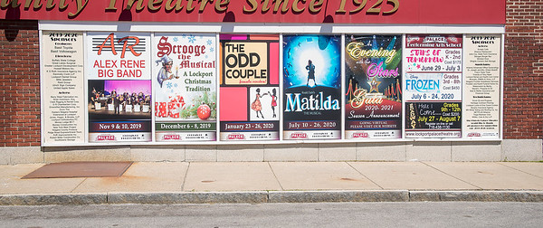 200521 Palace 2<br /> James Neiss/staff photographer <br /> Lockport, NY - The Lockport Palace Theatre to announce attraction lineup. (Not sure if this is new stuff or was there before the virus closings)