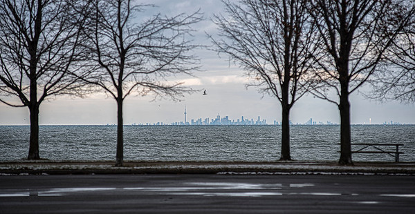 James Neiss/staff photographer <br /> Yougstown, NY - Skyline photos of Toronto from Fort Niagara State Park never get old.