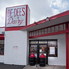 200408 Ice Cream 2<br /> James Neiss/staff photographer <br /> Niagara Falls, NY - De-Dee's Dairy is offering takeout only business.