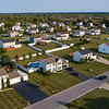 200922 LKPT Zombie Homes 2<br /> James Neiss/staff photographer <br /> Lockport, NY - Town of Lockport Zombie houses are down to 13 from more than 60 in 2014. Aerial view of homes off Harvest Ridge Way in the Town of Lockport.