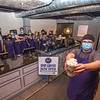 200716 NF Spot Coffee 2<br /> James Neiss/staff photographer <br /> Niagara Falls, NY - Cafe Manager Bill Montroy, right, and the staff at the new Niagara Falls Spot Coffee on Buffalo Avenue are ready to serve up customers in Niagara Falls, opening the doors at 3 p.m. Friday. After Friday the cafe will be open daily from 7 a.m. - 9 p.m.