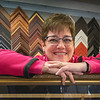 James Neiss/staff photographer <br /> Niagara Falls, NY - Sue Sullivan of Sue's Frame Of Mind on Center Street in Lewiston is celebrating 10 years in business on the Lewiston Center Street strip.