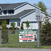 200521 Assessment Protest<br /> James Neiss/staff photographer <br /> Lockport, NY - A sign on Raymond Road claims homes are assessed 20-30% higher every other year.