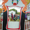 201020 Clown Yard 1<br /> James Neiss/staff photographer <br /> Niagara Falls, NY - Michael Destino was seen clowning around in his 60th Street front yard where he and wife Cecilia have created a creepy clown fairground for Halloween.