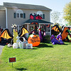 201016 Halloween House 4<br /> James Neiss/staff photographer <br /> Lockport, NY - This home on Lake Road in Wrights Corners is over the top Halloween.