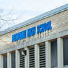 201120 Newfane HS 2<br /> James Neiss/staff photographer <br /> Newfane, NY - Newfane High School sign.