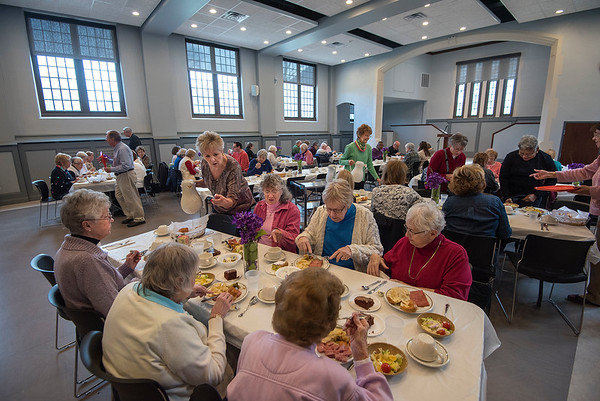 James Neiss/staff photographer <br /> Lockport, NY - Wednesday kicked off the 63rd Annual Community Lenten Luncheon at the Emmanuel United Methodist Church. The Lenten Luncheons are every Wednesday 12 -1 p.m. through April 1, and feature a guest speaker.