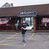 200421 Small Business 1B<br /> James Neiss/staff photographer <br /> Lockport, NY -Michael Molinaro, owner of the popular Molinaro's restaurant is trying his best during the Coronavirus.