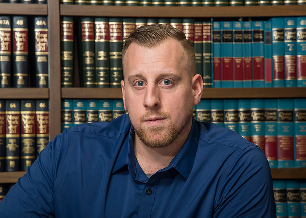 James Neiss/staff photographer <br /> Kenmore, NY - Former Lockport Police Officer Mark Wallace.
