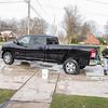 201119 Enterprise<br /> James Neiss/staff photographer <br /> North Tonawanda, NY - Dennis Lekki of Ward Road took advantage of the sunny day on Thursday to wash his brand new 2020 Dodge truck.