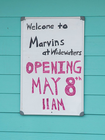 200507 Widewaters 2<br /> James Neiss/staff photographer <br /> Lockport, NY - Marvins At Widewaters the popular canalside restaurant is opening Saturday, May 8, under new management.