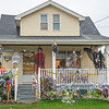 201029 Halloween 2<br /> James Neiss/staff photographer <br /> Niagara Falls, NY - There is more spooky business going on at this 70th Street home.
