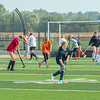 200924 Wilson Sports 2<br /> James Neiss/staff photographer <br /> Wilson, NY - The Wilson girls field hockey team practiced their moves after school on Thursday.