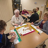 James Neiss/staff photographer <br /> Lewiston, NY - Seniors, Mary Lostracco, Maribeth Coleman, Linda Parlato, Ellen O'neil, Jean Lohnes and Marianne Gitterman, enjoy Monday Mahjongg at the Lewiston Senior Center. New and novice players are welcome on the first Monday of the month.