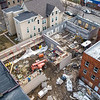 """James Neiss/staff photographer <br /> Niagara Falls, NY - Work continues on the new $2.6M Daybreak program and facility addition at Heart Love & Soul.<br /> <br /> Old Release from last year fyi…….<br /> FOR IMMEDIATE RELEASE<br /> February 6, 2019<br /> Contact: Mark Baetzhold<br /> Phone: (716) 282-5687<br /> Email: m.baetzhold@heartloveandsoul.org<br /> Heart, Love & Soul Announcing Capital Campaign to Support New Program Expansion<br /> More than $2.6M committed to Daybreak one-stop center opening Fall 2019<br /> NIAGARA FALLS, N.Y. – A press conference to announce the launch of a capital campaign to support Heart, Love & Soul (HLS) and its planned Daybreak program will take place on Friday, February 15 at 10:30 a.m. at 939 Ontario Ave., Niagara Falls, NY.<br /> HLS plans to begin renovating the site of the Daybreak program at 924 Niagara Avenue directly behind Heart & Soul's current building in May 2019. The new facility is expected to open in Fall 2019.<br /> Daybreak will build upon current HLS services – including a food pantry, daily meal service, case management, and care coordination – by providing additional basic services and dedicated space for partner agencies to deliver client services directly onsite.<br /> """"We are excited to move forward on this needed initiative that is the result of years of planning by many service agencies in the Niagara Falls community,"""" said Sr. Beth Brosmer, Executive Director of HLS. """"By bringing a variety of services together in one accessible location, we can improve the effectiveness of our efforts and make a greater collective impact on our community and individuals in need.""""<br /> The new center will offer shower and laundry facilities, a multi-purpose community room, computer lab, additional space for case management and care coordination, a reflection room, and offices for partner agencies to deliver a variety of services on a rotating basis. Clients will be able to access services for housing, health and wellness, b"""