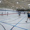 James Neiss/staff photographer <br /> Niagara Falls, NY - Members of the Niagara County Volleyball Club practice at the Niagara International Sports & Entertainment complex residing inside the old Sears building at the former Summit Park Mall. The complex features  a gym for basketball, another for Volleyball, another with 7 batting cages, 4 pitches lanes and a future game room.