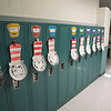 200316  Virus - Schools 2<br /> James Neiss/staff photographer <br /> Sanborn, NY - The halls at West St. Elementary are empty as all schools in Niagara County are closed due to the Virus Pandemic.