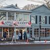 201202 COVID Restaurants 7<br /> James Neiss/staff photographer <br /> Lewiston, NY - Customer's head into Apple Granny on Center Street in Lewiston.
