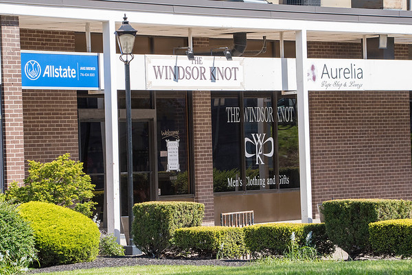 200520 Opening story<br /> James Neiss/staff photographer <br /> Lockport, NY - The Windsor Knot mens store in Lockport.