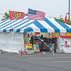200623 Fireworks 2<br /> James Neiss/staff photographer <br /> Lockport, NY - Legal fireworks tents are popping up all over Niagara County like this one in the Walmart parking lot in Lockport.
