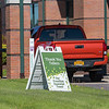 200520 Enterprise J<br /> James Neiss/staff photographer <br /> Lockport, NY - Signs of appreciation surround the Cornerstone Community Credit Union on Transit Road.