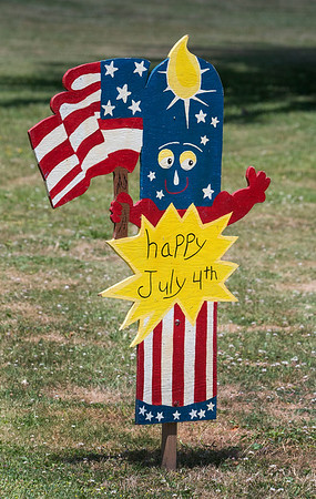 200630 Enterprise 1<br /> James Neiss/staff photographer <br /> Town of Niagara, NY - This firecracker on Laurel Road is getting no noise complaints this 4th of July holiday week.